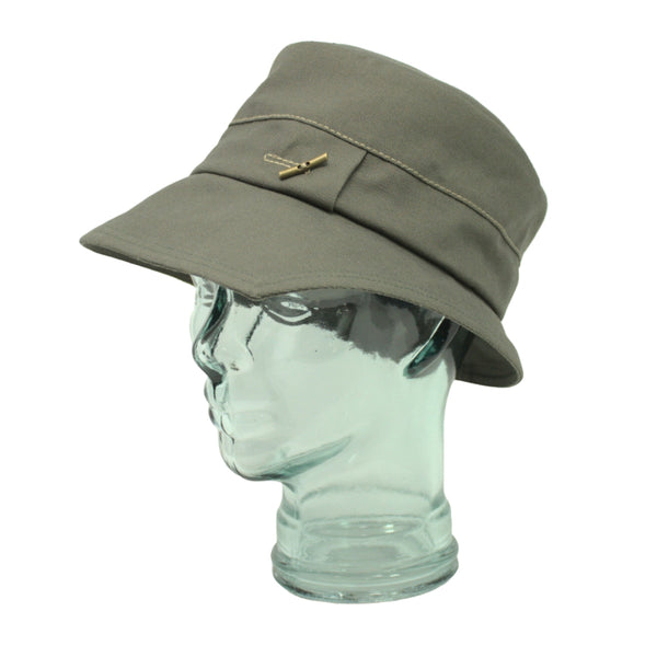 Lillie & Cohoe Lake Country Grace Olive Canvas Hat