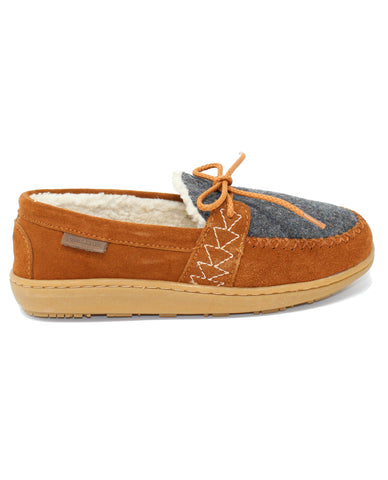Pendleton Lakehouse Moc Caramel Cafe Wool Slipper