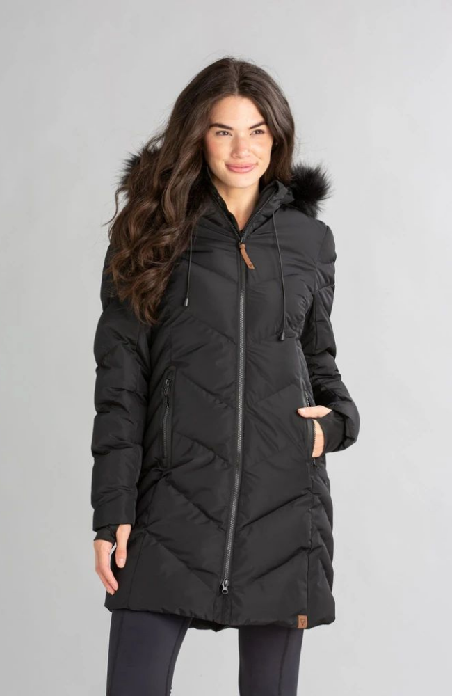 Endeavor Black Long Coat