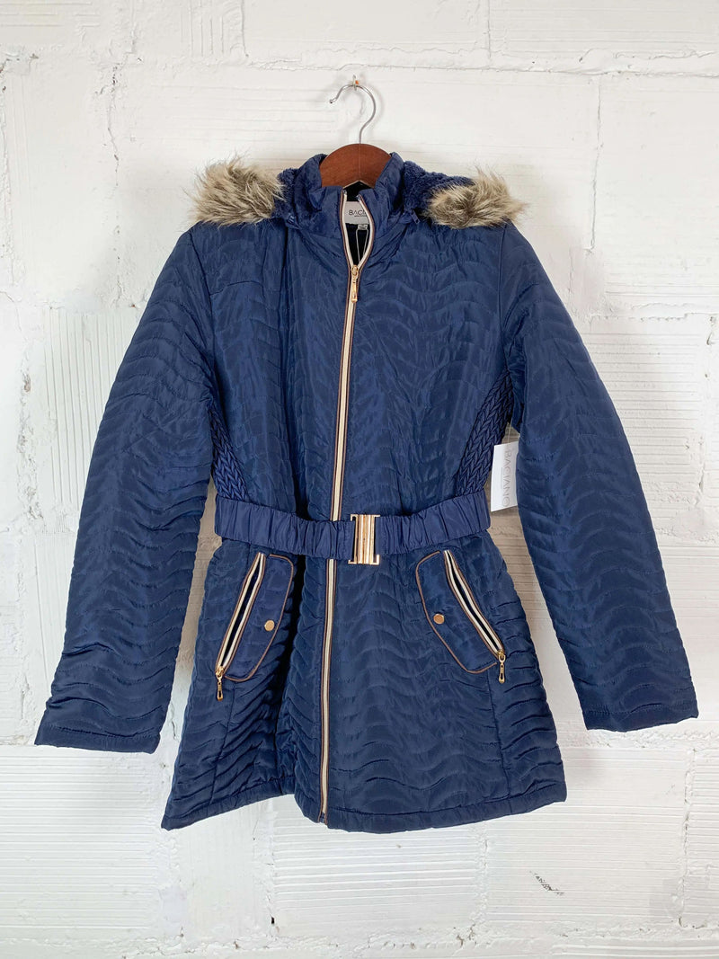 Heather Navy Jacket