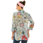 Katia Denim Floral Shirt