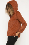 Teena Sherpa Hooded Pullover