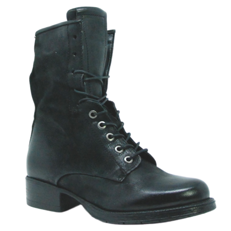 Miz Mooz Nala Black Ankle Boot