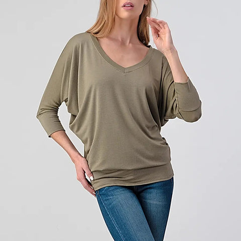 Perri Light Olive Top