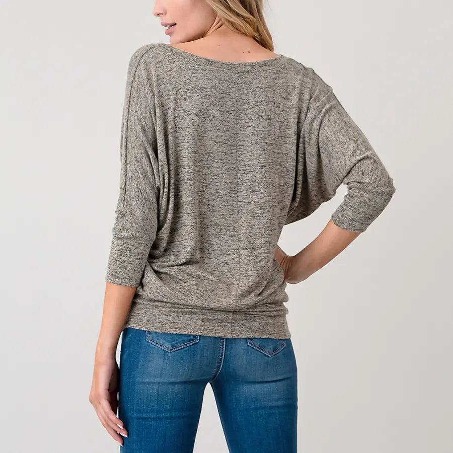Hannah Taupe Top