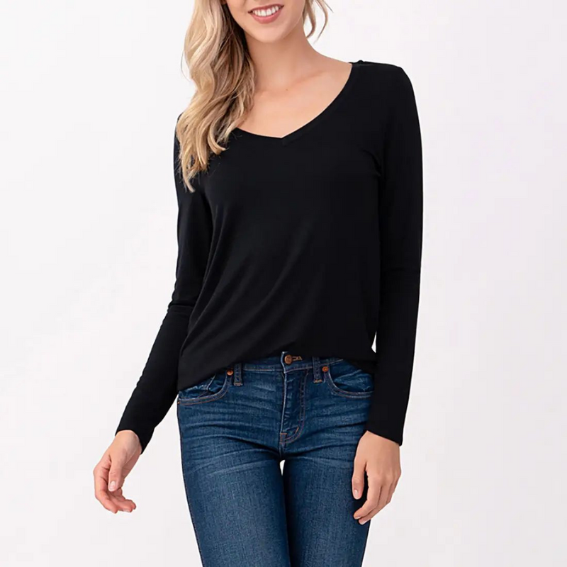 Diana Black Top