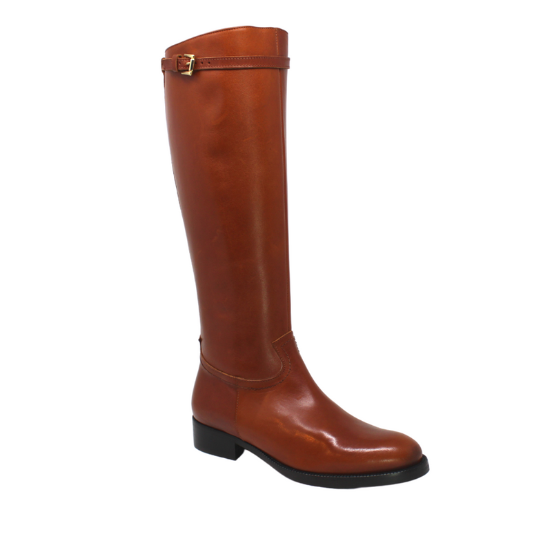 Plum Iris Rachel Tan Tall Boot