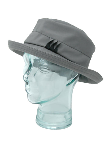 Lillie & Cohoe Rainy Day Brooke Twist Grey/Black Hat