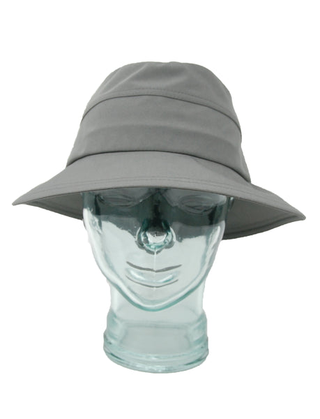 Lillie & Cohoe Rainy Day Dakota Grey Hat