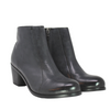 Salvia Boa Black Ankle Boot