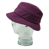 Lillie & Cohoe Rainy Day Dakota Plum Hat