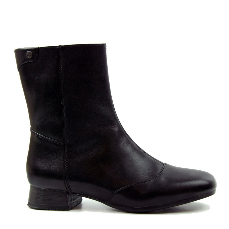 Bussola Lausanne Black Ankle Boot