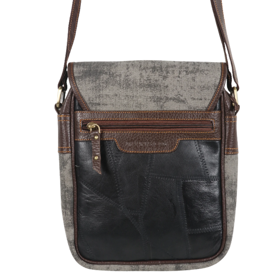 Gray Cooper Crossbody
