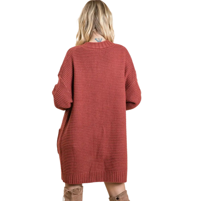 Emily Brick Knit Cardigan