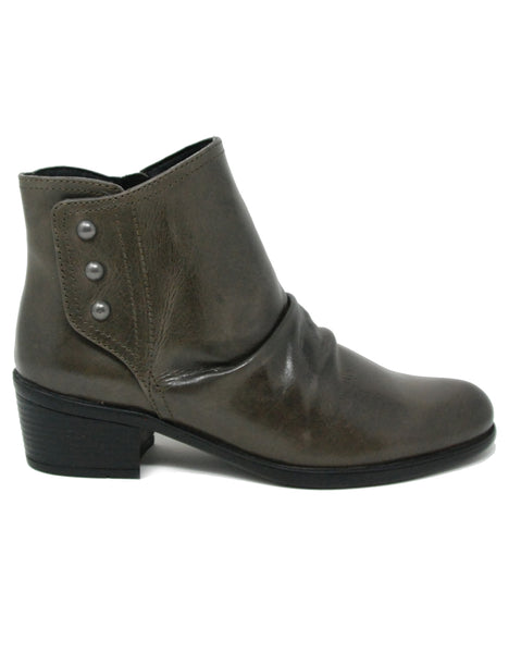 Bussola Anais Dark Taupe Vintage Ankleboot