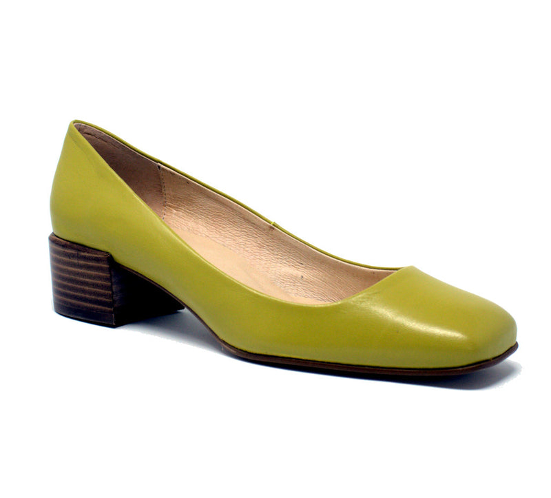 Intentionally Blank Tristi Canary Pumps