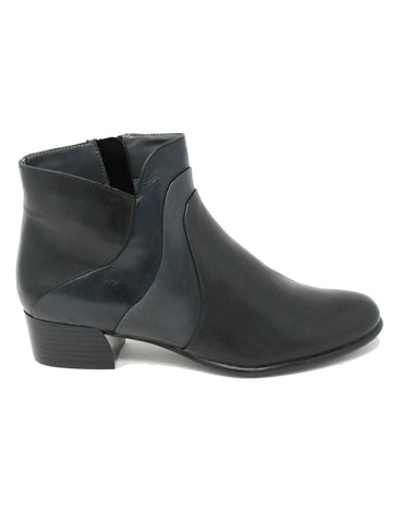 Canal Grande Balia 81611 Black/Blue Ankle Boot