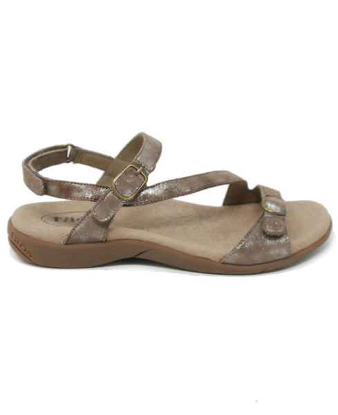 Taos Beauty 2 Metallic Taupe Sandal