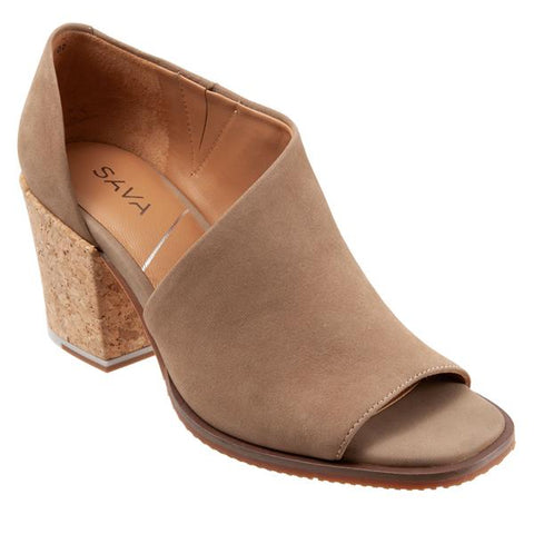 Sava Bentley Taupe Nubuck Shoe