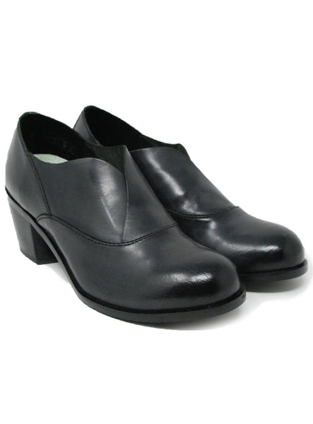 Salvia Brie Black Shoe