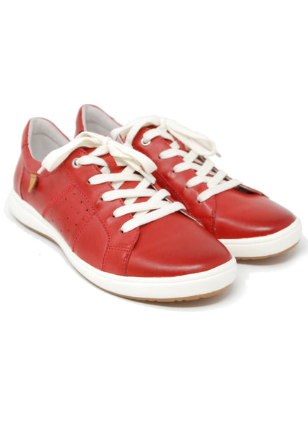 Josef Seibel Caren 01 Red Sneaker