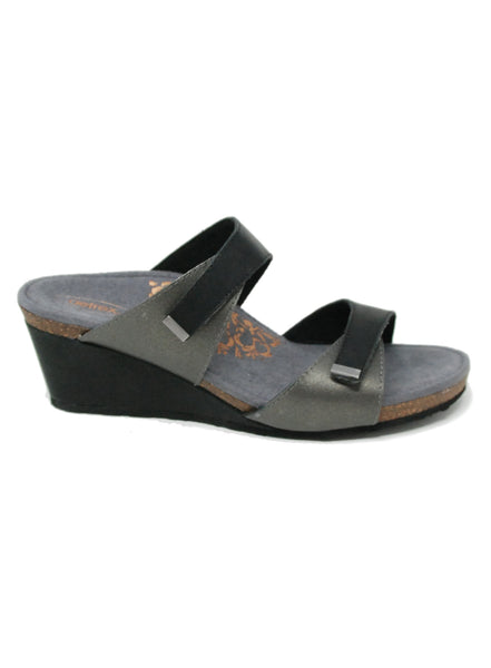 Aetrex Chantel Black Sandal