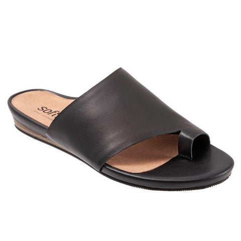 Softwalk Corsica Black Shoe