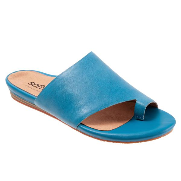 Softwalk Corsica Blue Shoe