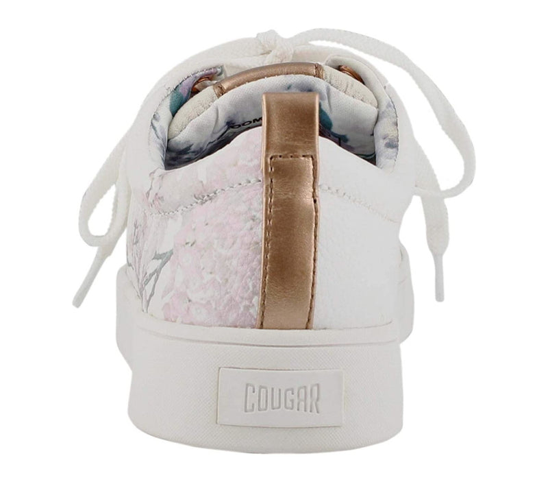 Cougar Bloom White Sneaker