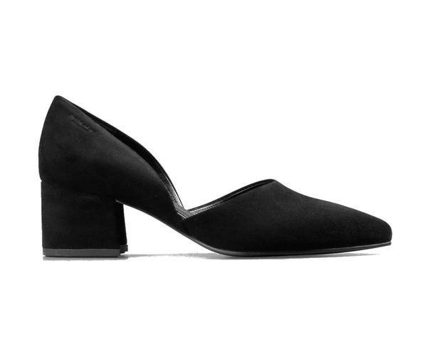 Vagabond Shoemakers Mya Black Goat Suede Pump