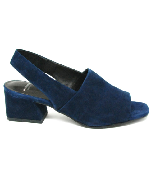 Vagabond Shoemakers Elena Dark Blue Suede Sandal