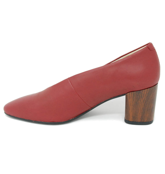 Vagabond Shoemakers Eve Pump Deep Red