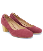 Sava Everly Dark Red Suede Pump