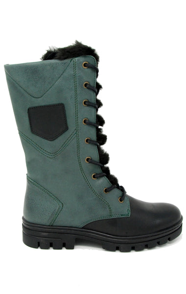 Eric Michael Fairbanks Green Waterproof Boot