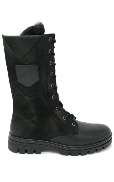 Eric Michael Fairbanks Black Waterproof Boot