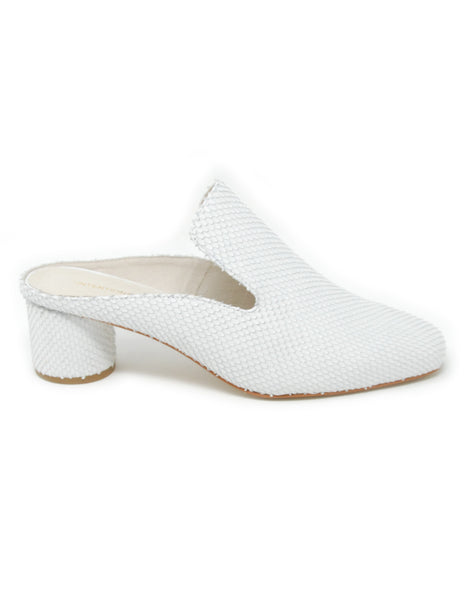 Intentionally Blank Gate White Mule