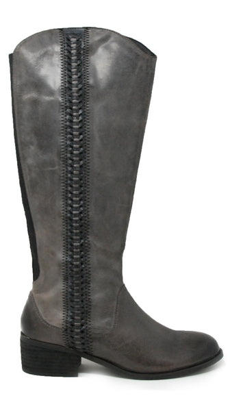 Salvia Genny Black Vintage Tall Boot