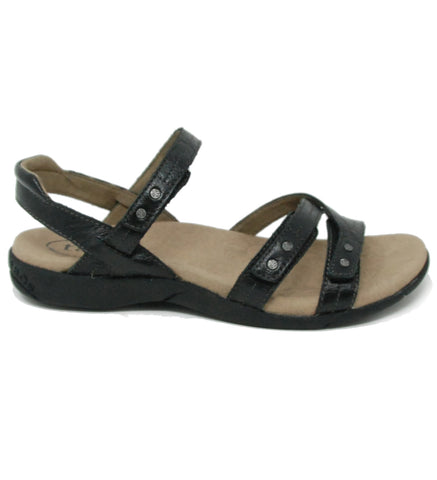 Taos Happy Black Sandal