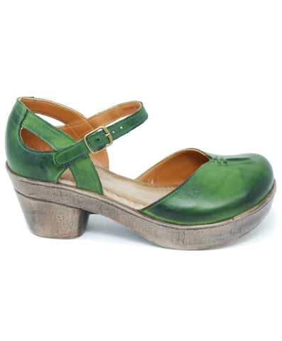 Jafa 702 Kiwi Mary Jane Clog