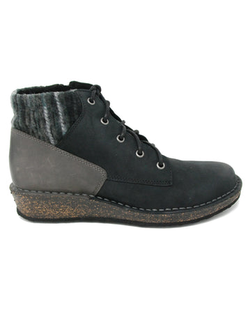 Aetrex Jolie Black Sweater Boot