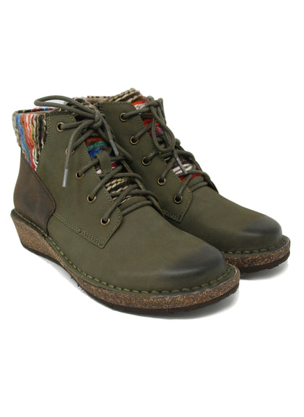 Aetrex Jolie Hunter Green Sweater Boot