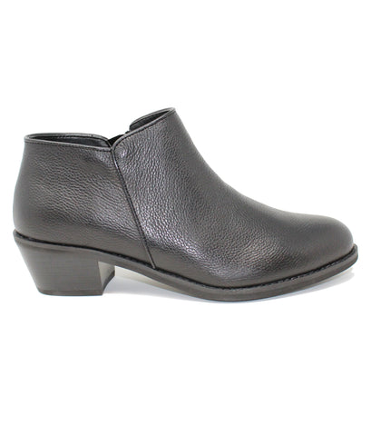 Aetrex Laurel Black Shootie