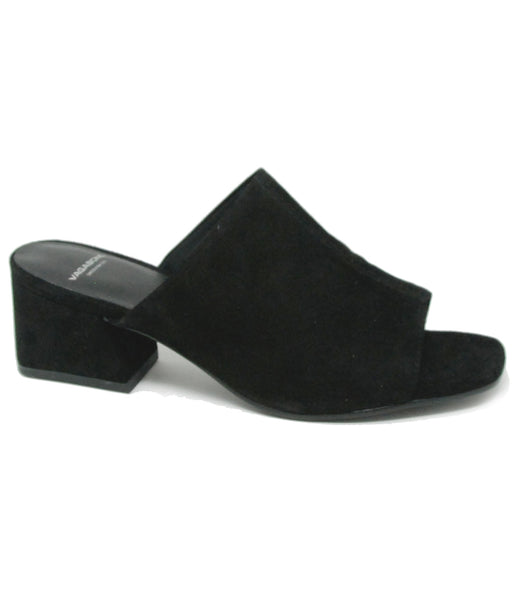 Vagabond Shoemakers Lena Black Suede Mule
