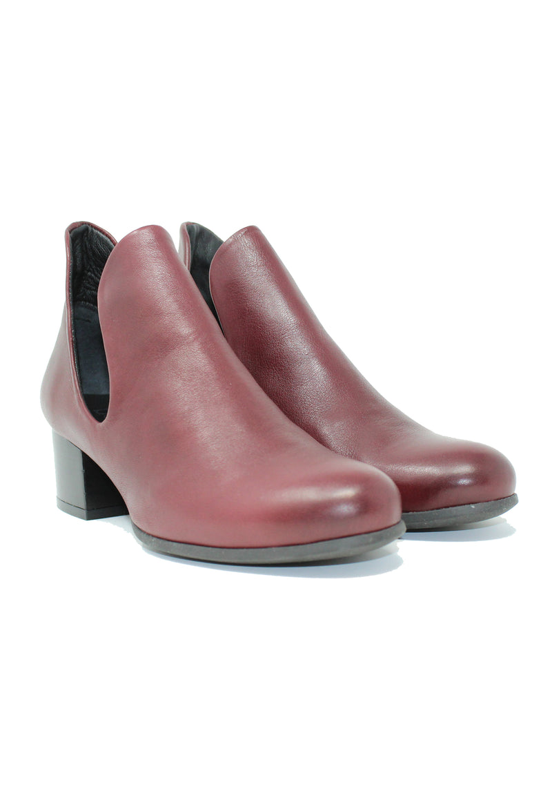 Bueno Mick Bordeaux Ankle Boot