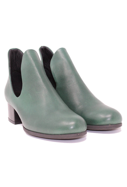 Bueno Mick Hunter Green Ankle Boot