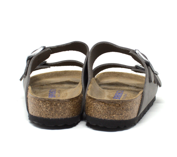 Birkenstock Arizona Soft Footbed Iron Sandal