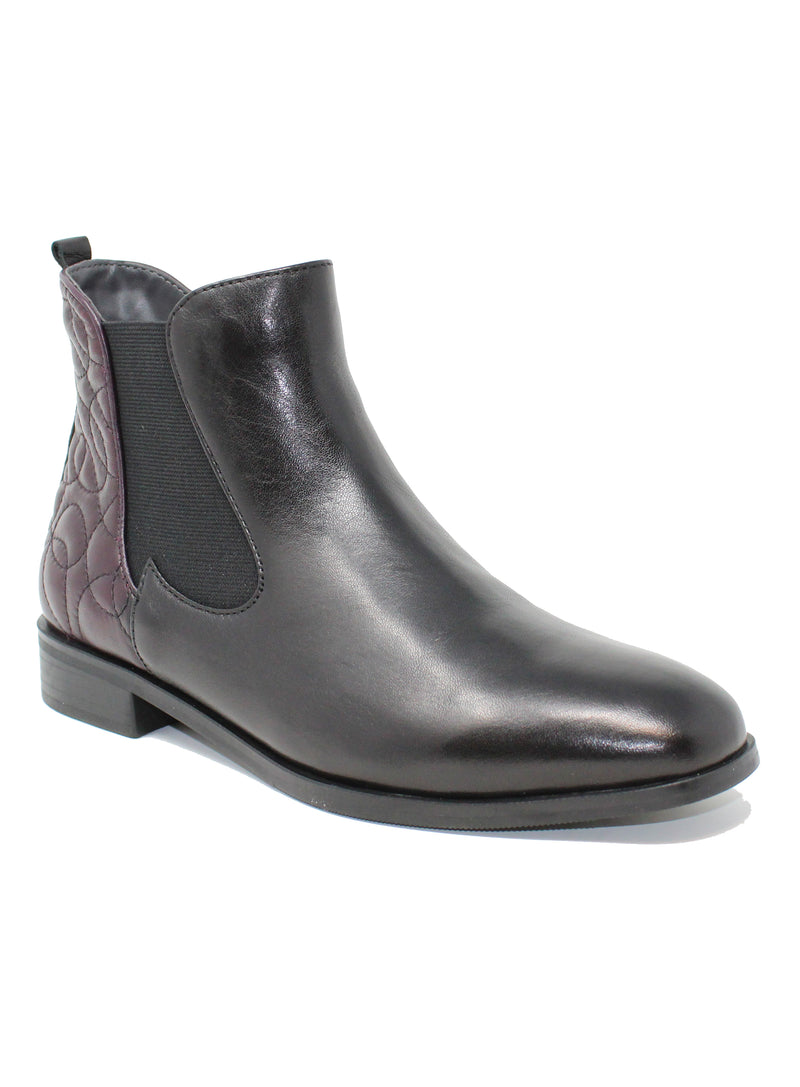 Canal Grande Percy 58608 Black/Vino Ankle Boot