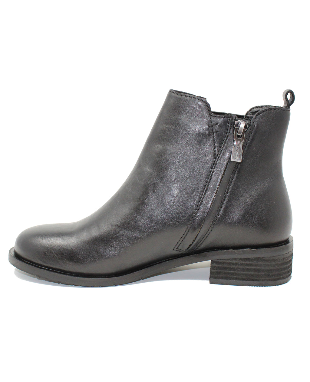 Salvia Rhonda Black Butter Chelsea Boot