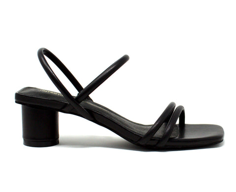 Intentionally Blank Hiya Black Sandal