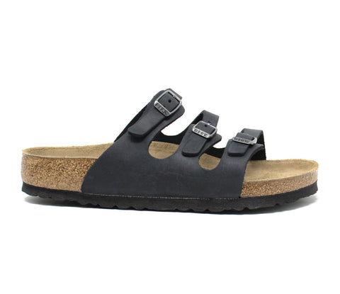 Birkenstock Florida Soft Footbed Black Sandal
